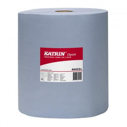 Prosop Katrin Classic Industrial XXL 3 Blue, 3 straturi, 190 m., 2 role/bax