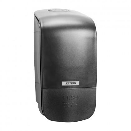 Dispenser Katrin, negru, sapun lichid/spuma 500 ml.