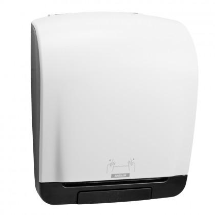 Dispenser Katrin, alb, rola prosop M2 cu derulare exterioara
