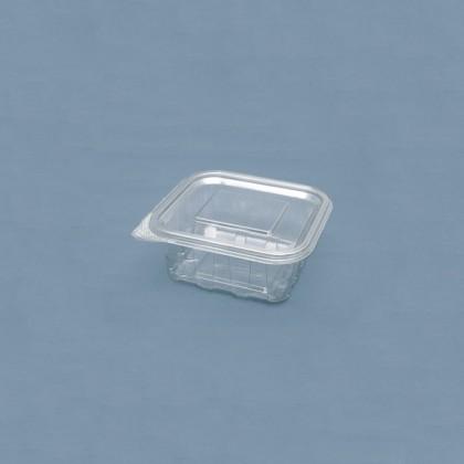 Caserola dreptunghiulara cu capac 500 ml., 60x130x125 mm, 100 buc./set