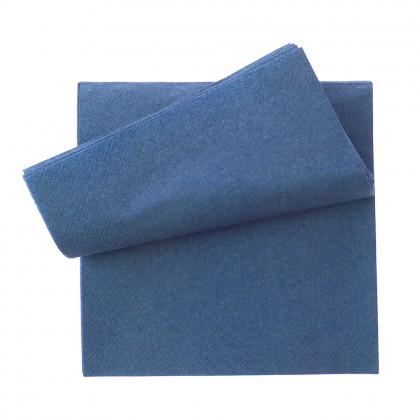 Servetel 33x33 cm., albastru, 2 straturi, 250 buc./pachet