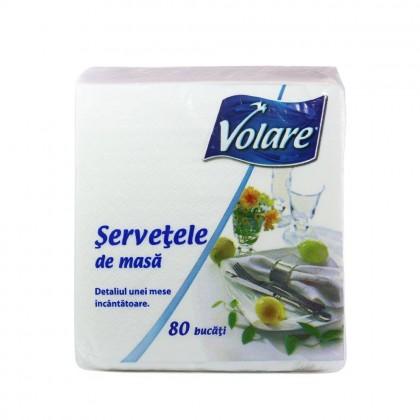 Servetel Volare 33x33 cm., 1 strat, 80 buc./pachet