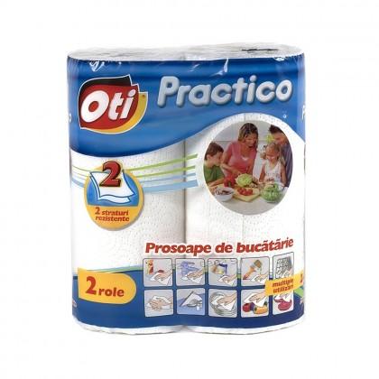 Prosop OTI Practico, 2 straturi, 2 role