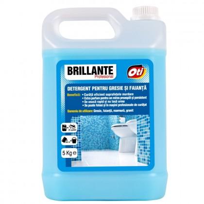 Detergent Brillante pentru gresie si faianta, 5kg