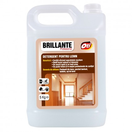 Detergent Brillante pentru lemn, 5kg